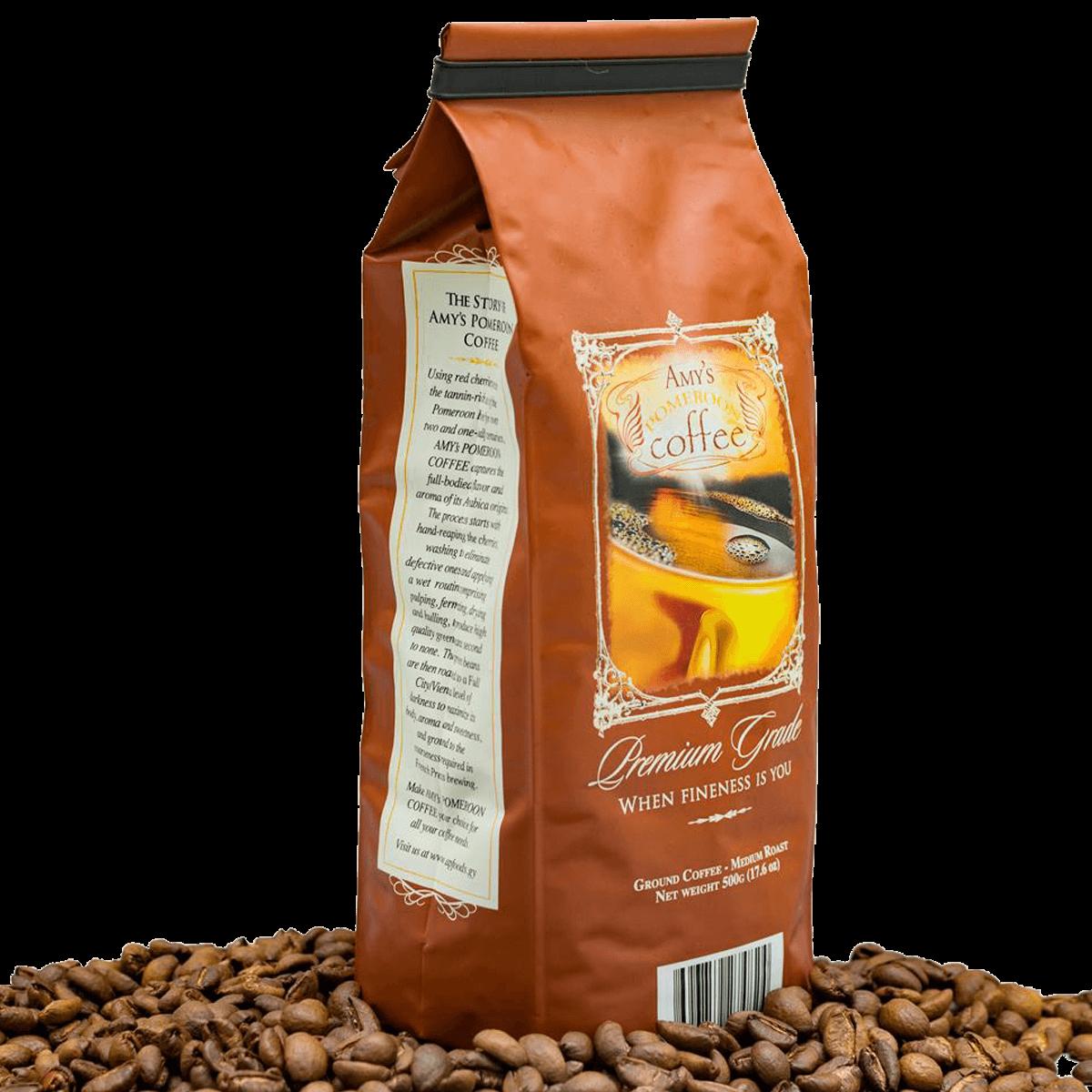 Amy's Pomeroon Coffee - Dark Roast